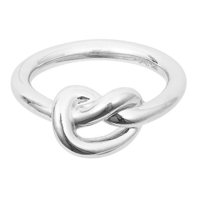 Knot Ring Silver Sophie by Sophie