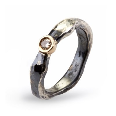 Heritage Silver Single Ring By Birdie