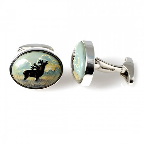 Stag Swivel Cufflinks Orlap