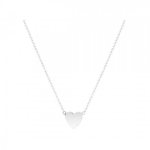 Mini Heart Halsband Silver Sophie by Sophie
