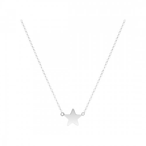 Mini Star Halsband Silver Sophie by Sophie