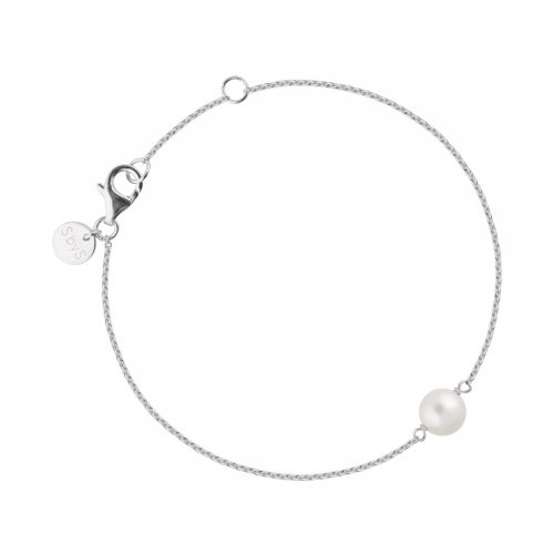 Pearl Armband Silver Sophie by Sophie