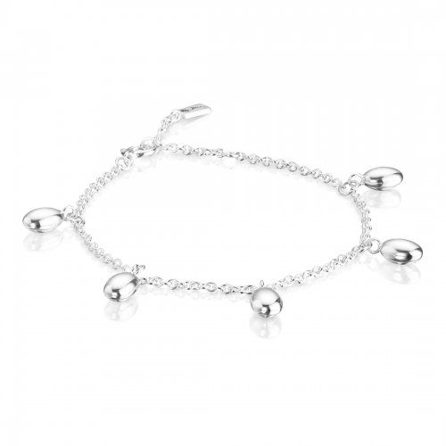Love Beads Plain Armband Silver Efva Attling