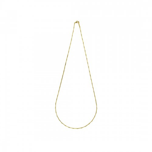 Bamboo Classic Necklace Nätt Guld