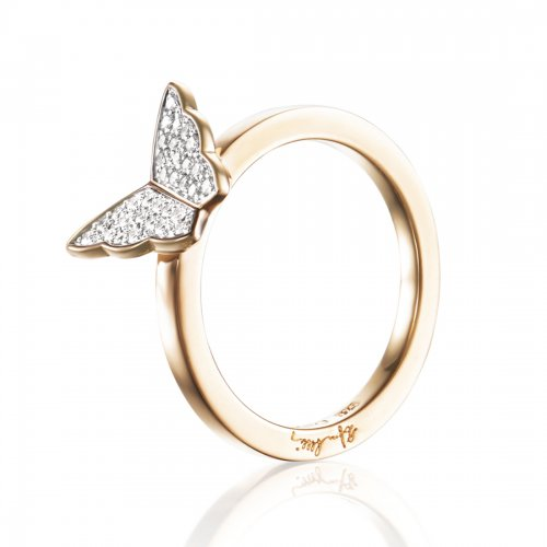 Little Miss Butterfly & Stars Ring